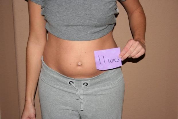 Беременности на 11 недели