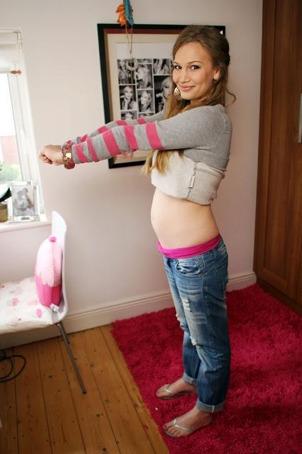 Фото живота на 18 неделе беременности