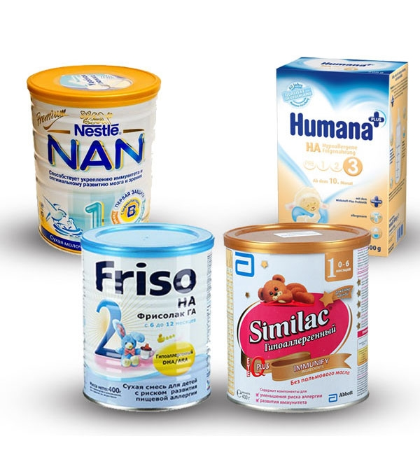 смесь при аллергии на белок молока