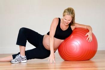 Фитбол для беременных как подобрать 374