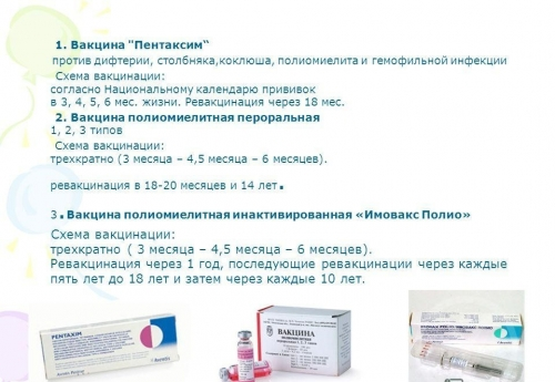 Вакцина пентаксим сколько раз