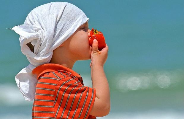 С какого возраста можно помидоры детям